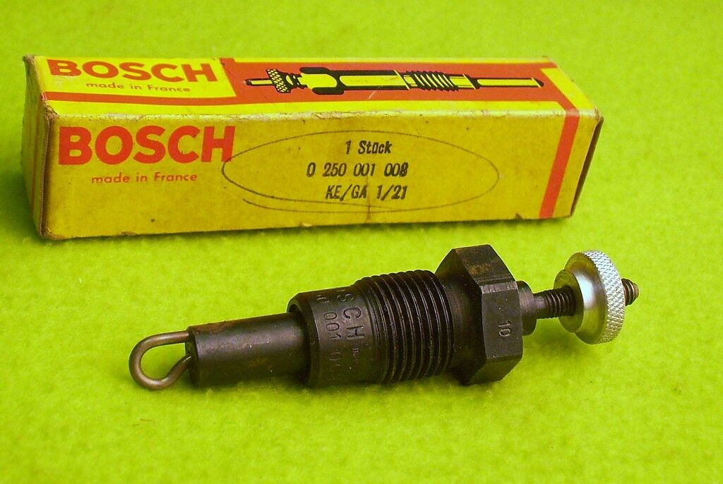 Genuine bosch 0250001008 glow plug for 1966 80 mercedes for Mercedes benz glow plugs