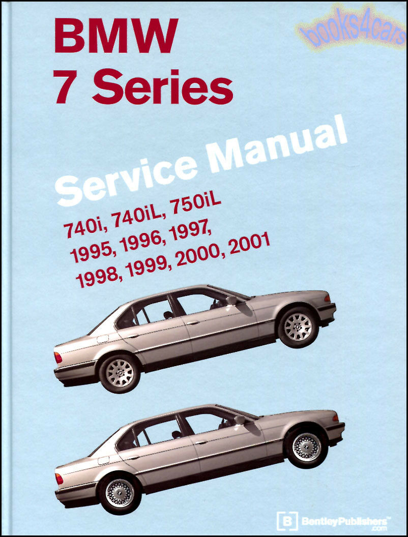 SHOP MANUAL 740i 750iL SERVICE REPAIR BMW BOOK BENTLEY HAYNES E38 CHILTON 1  of 1FREE Shipping See More