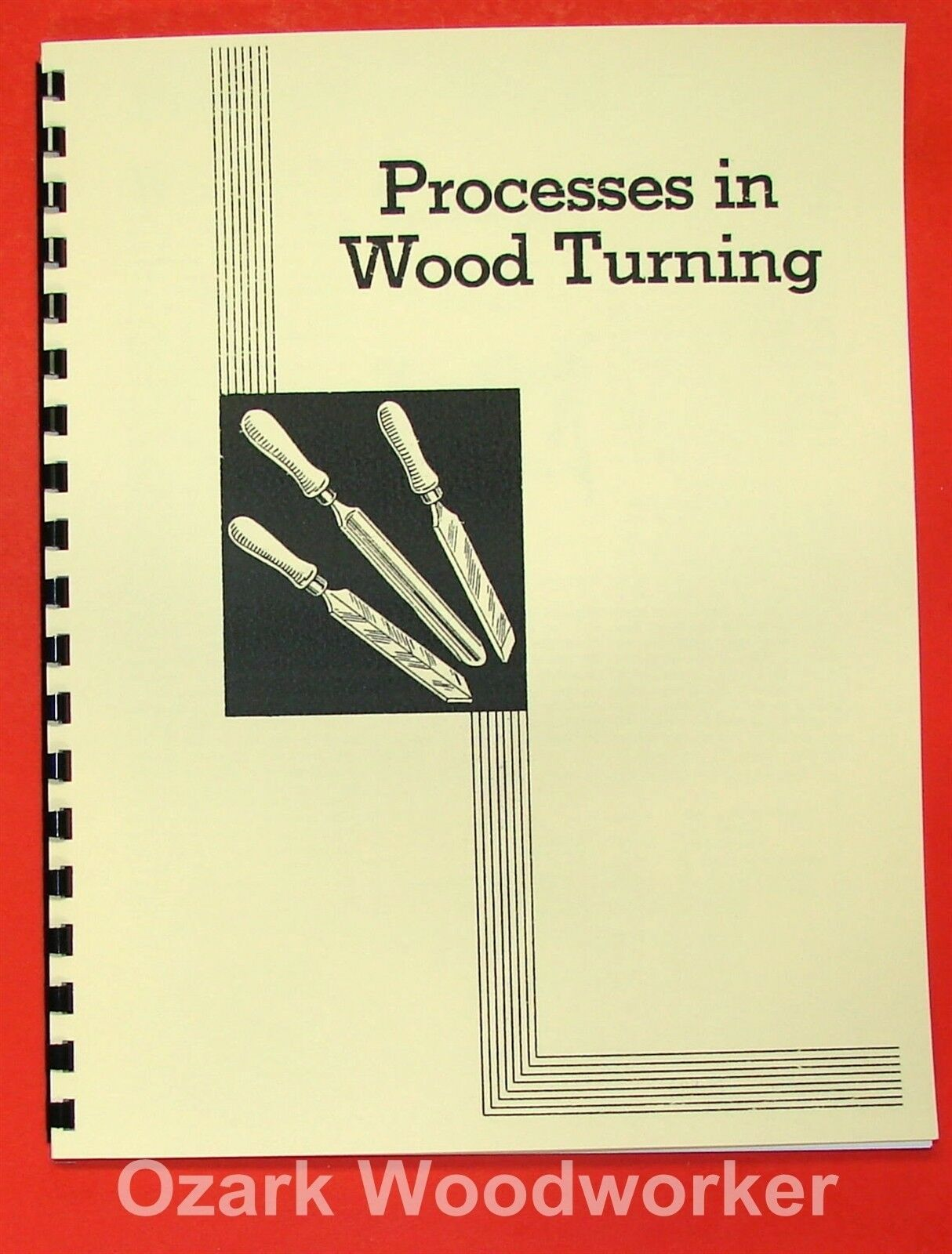 How To Do Woodturning on a Lathe Handbook 0968