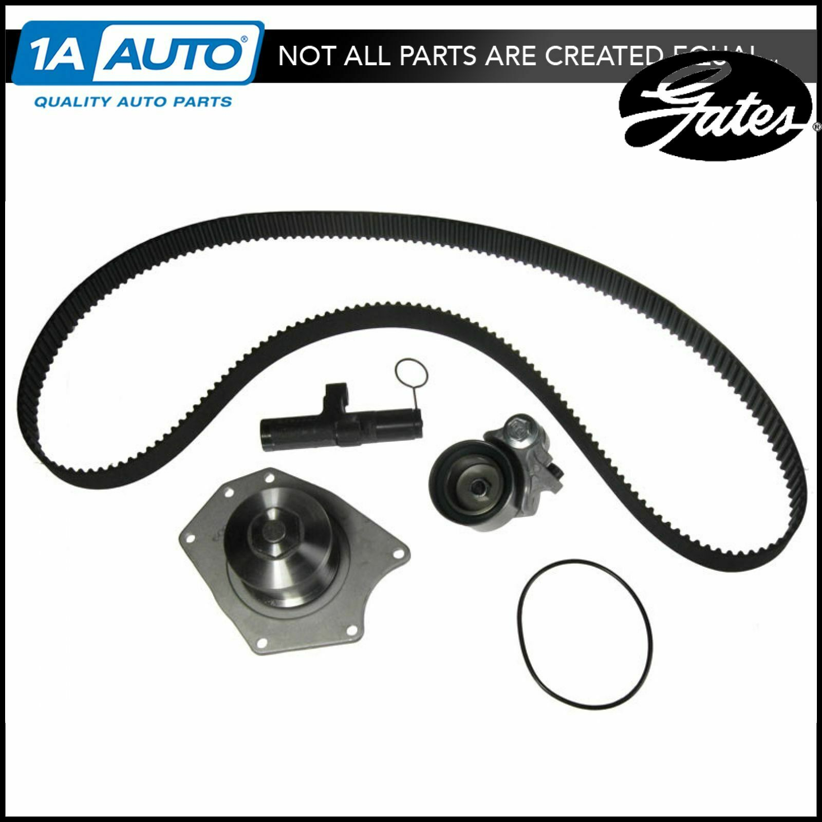Timing Belt Kit W Water Pump Tensioner Tckwp295 Gates For Chrysler 1999 Isuzu Rodeo 1 Of 3only 2 Available