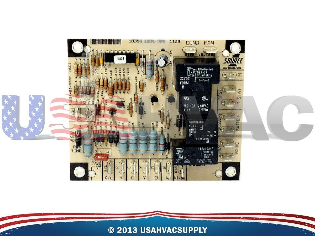 Luxaire York Coleman Evcon Furnace Control Board 031 01222 000 10390 Circuit Wiring Diagram 1 Of 1free Shipping