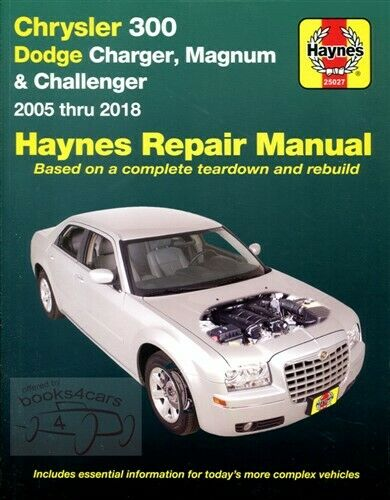 Shop Service Repair Manual Haynes Book Chrysler 300 Dodge Magnum Chilton  Guide C 1 of 1FREE Shipping ...