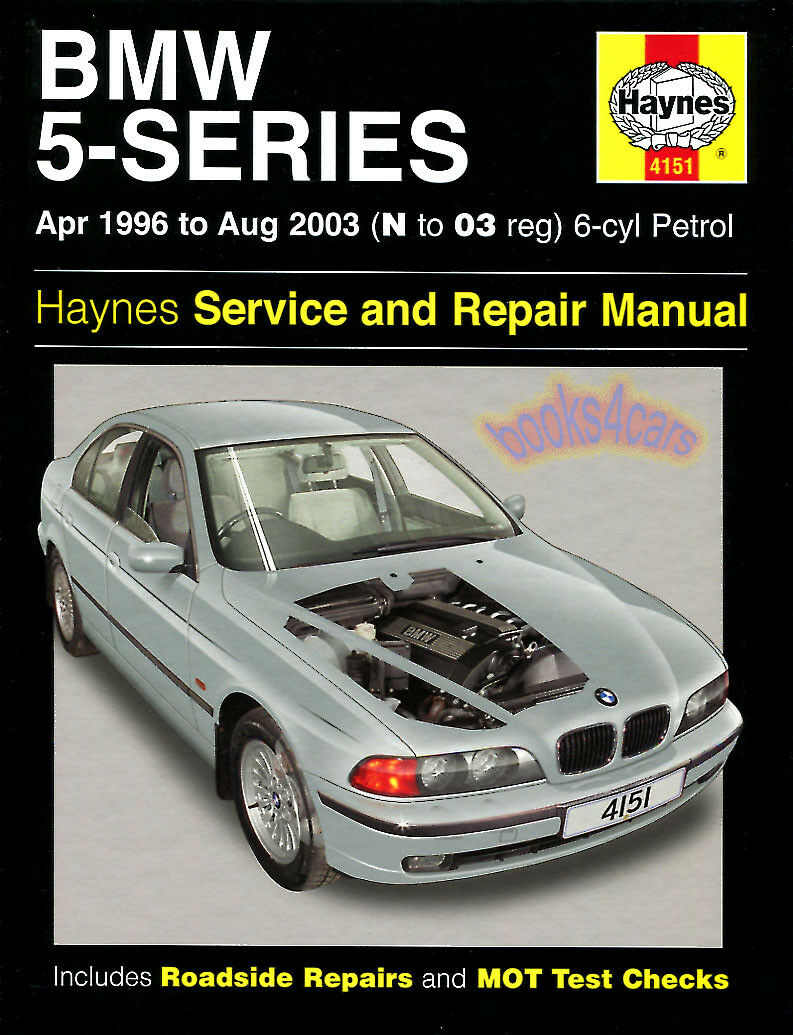 BMW SHOP MANUAL SERVICE REPAIR HAYNES BOOK 5 SERIES 525i 530i 528i CHILTON  GUIDE 1 of 1FREE Shipping ...