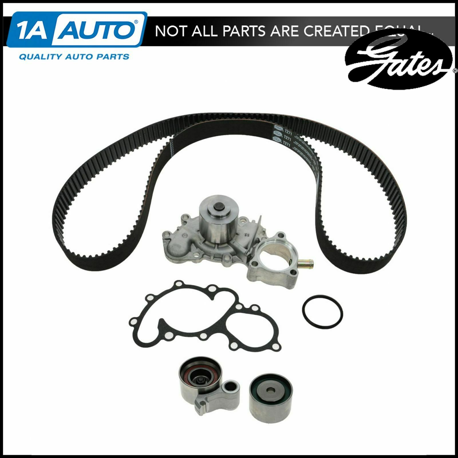 Timing Belt Kit W Water Pump Tckwp271b Gates For Toyota Pickup 1992 4runner 1 Of 4only 2 Available