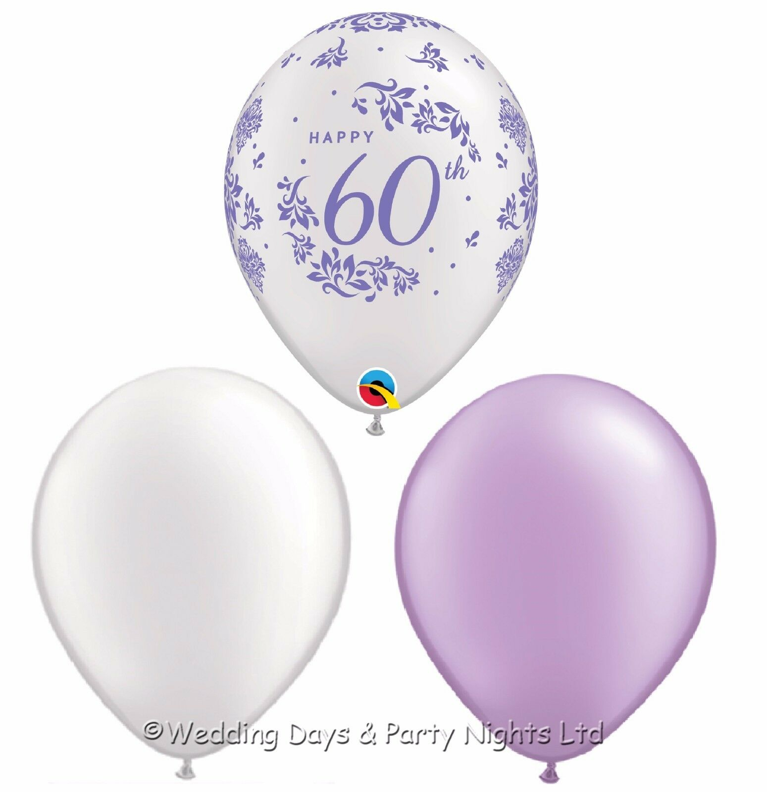 30 Hy 60th Balloons Diamond Wedding Anniversary Or Birthday Party Decorations 1 Of 1free Shipping See More