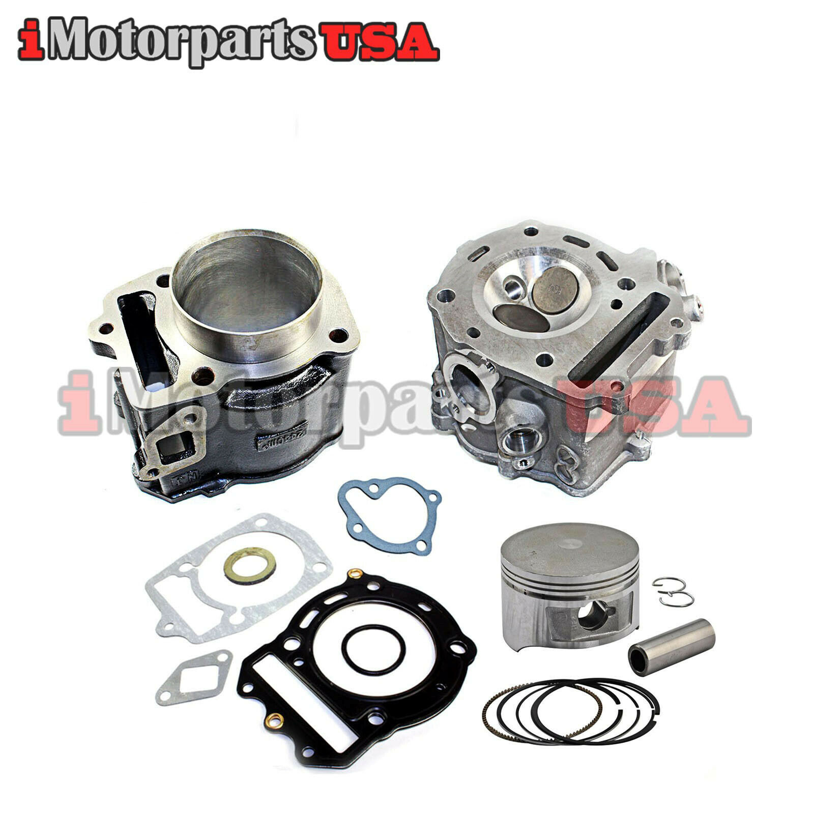 Engine Rebuild Cylinder Kit Jonway Yy250t Roketa Cfmoto Cf250 Gy6 Jeep Cj5 Wiring Harness 250 1 Of 4free Shipping