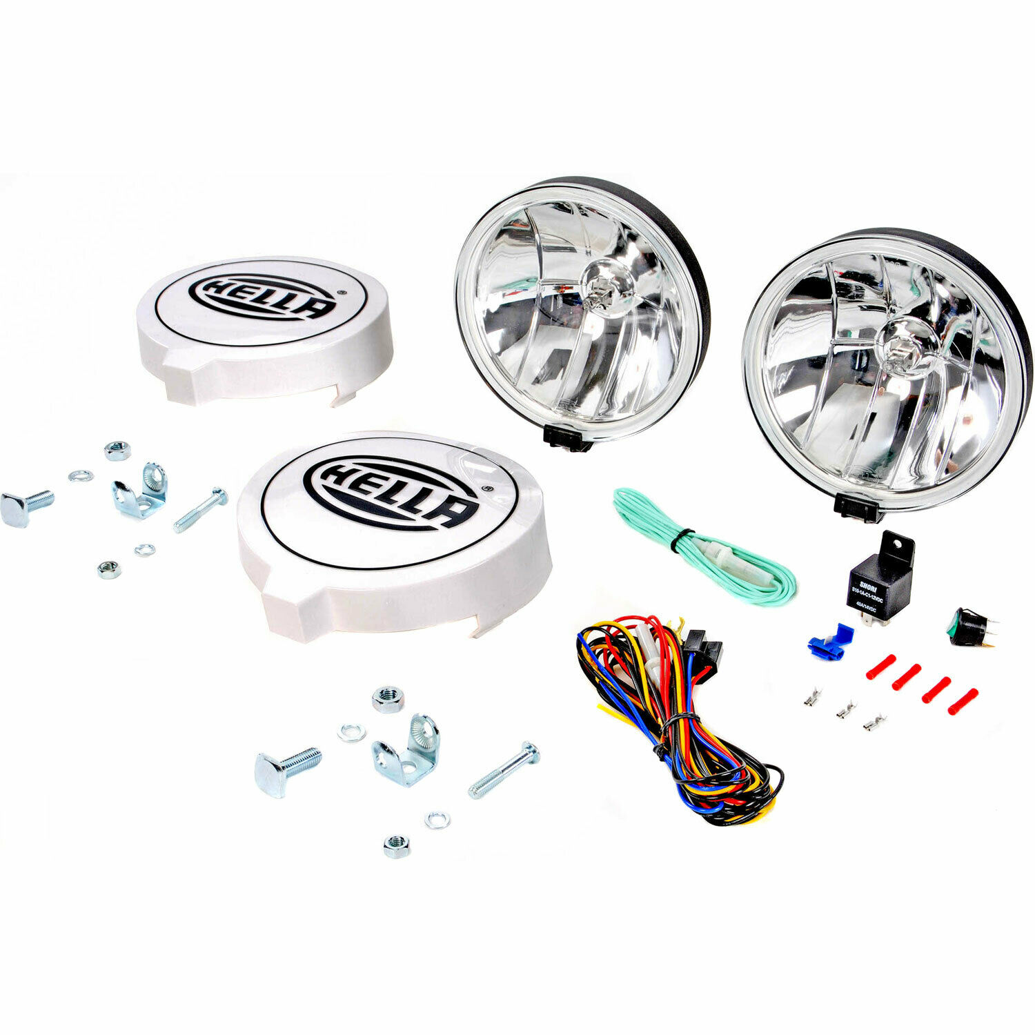 Hella 010032801 700ff Driving Light Kit 6714 Picclick Ibis Tek Bar Wiring Harness 1 Of 4only Available