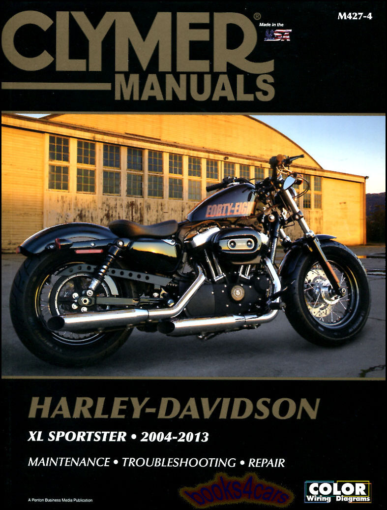 Harley Davidson Xl Sportster Shop Manual Service Repair Book Clymer Xl 1 of  1FREE Shipping ...