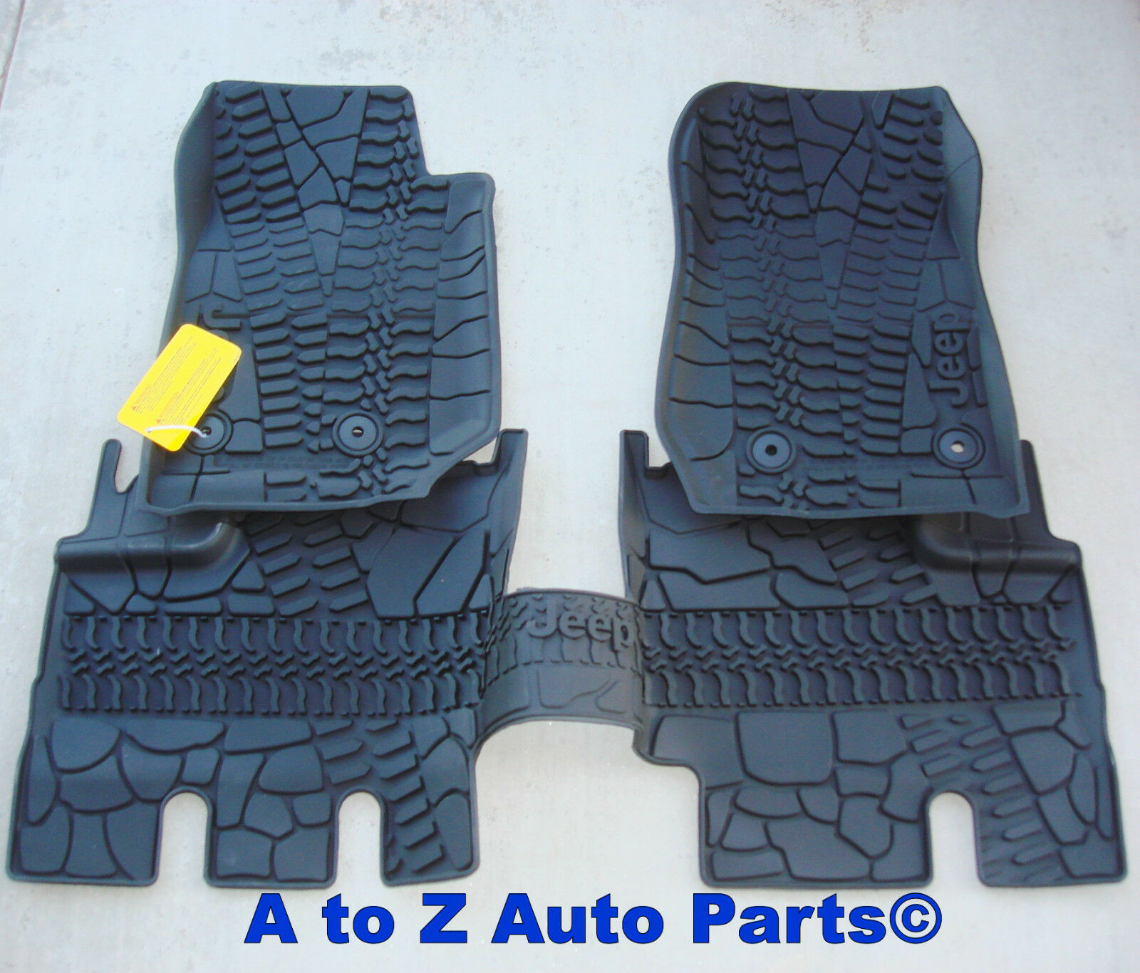 NEW 2014 2018 Jeep Wrangler JK Unlimited 4 DOOR Slush Style RUBBER Floor  Mats 1 Of 3Only 2 Available See More