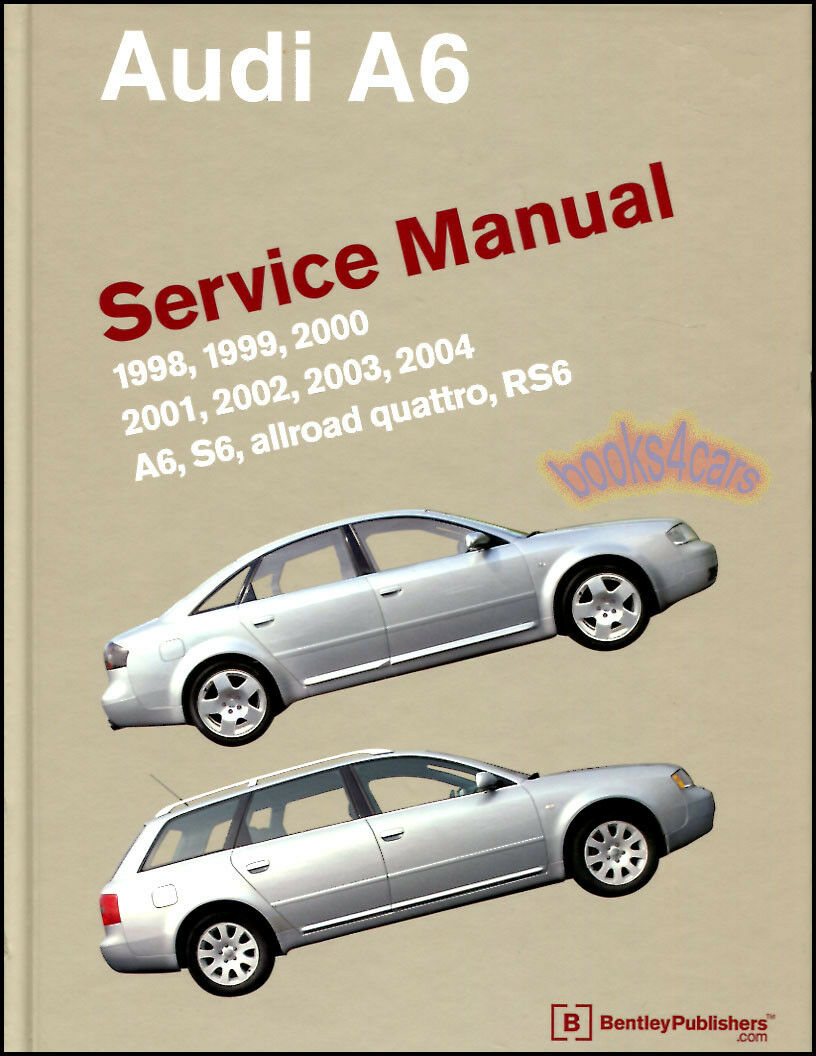 Shop Manual A6 Service Repair Audi Bentley Book Allroad Quattro Workshop  Guide 1 of 1FREE Shipping ...