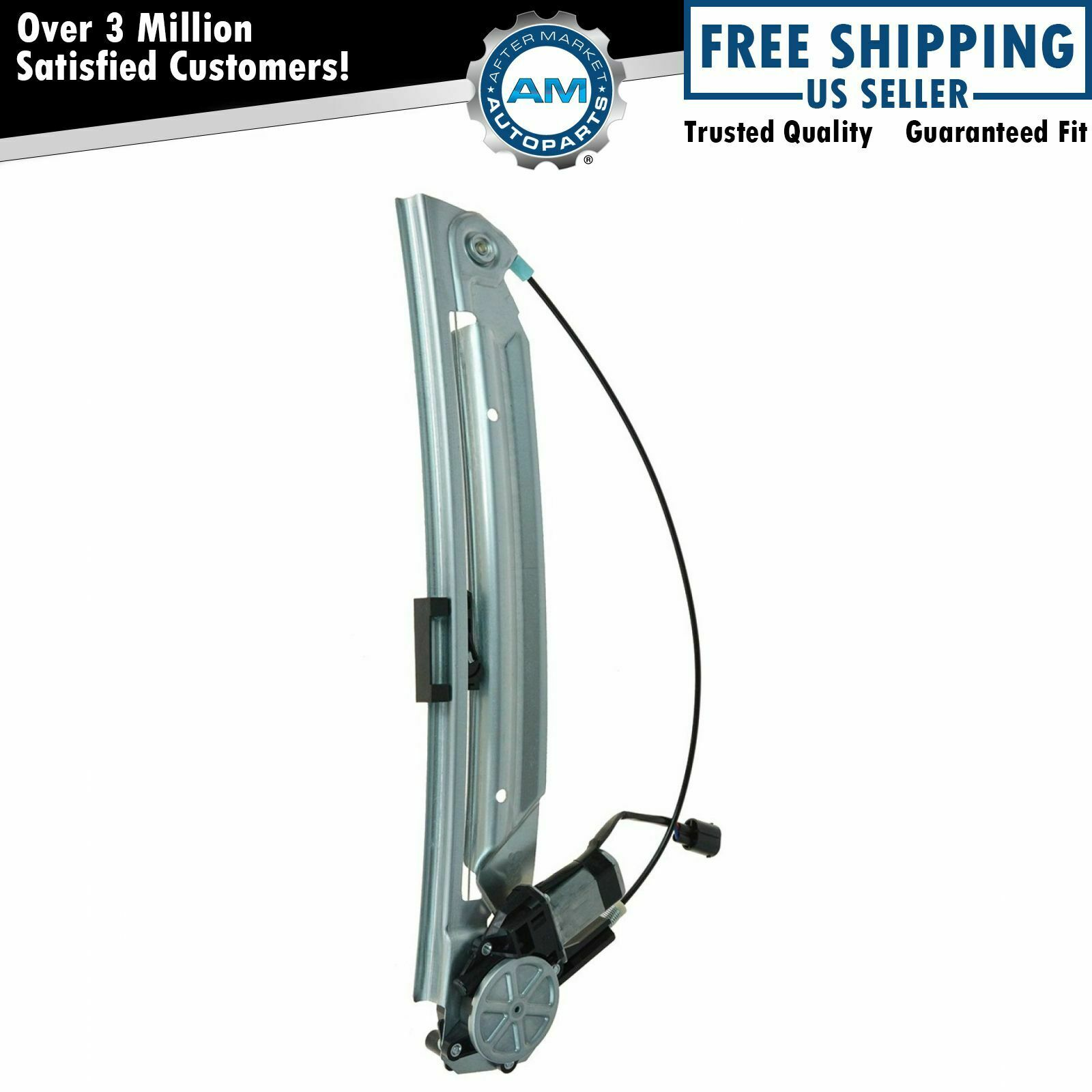 Power Window Regulator Motor Rear Passenger Side Right Rh For Bmw 2004 Pontiac Grandam And Assembly 5 Series E39 1 Of 5only Available