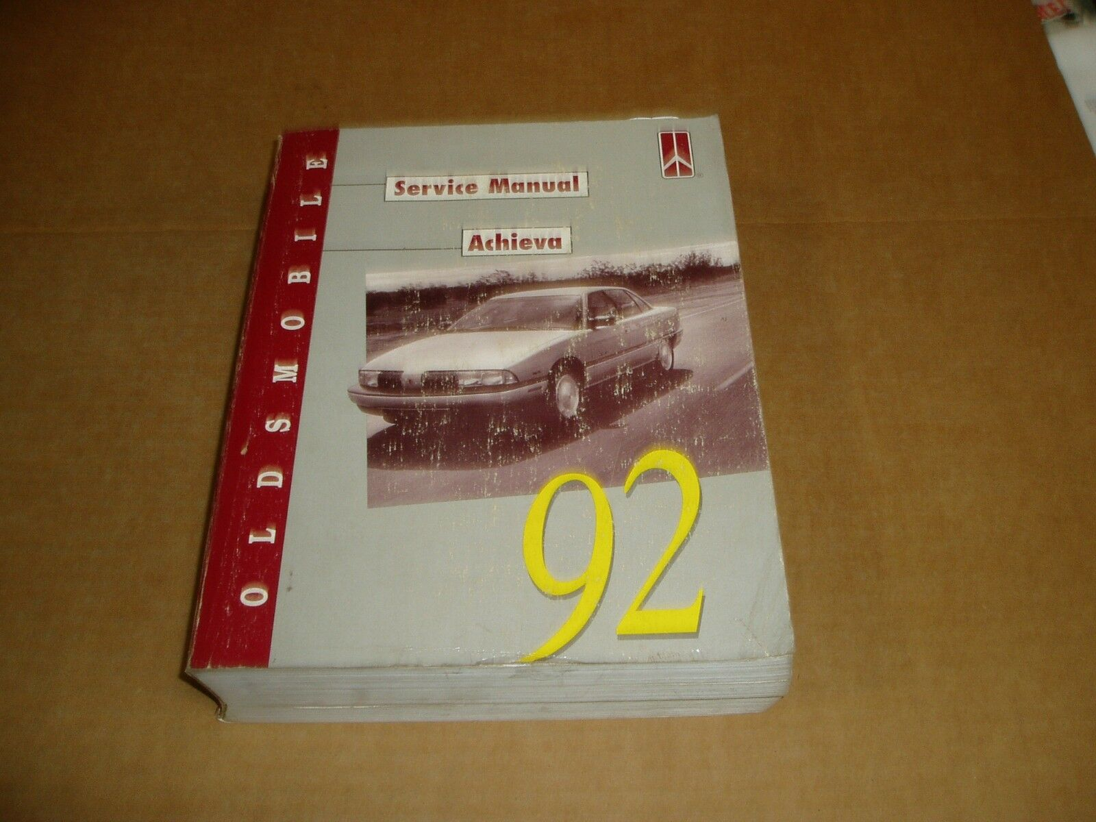 1992 Oldsmobile Achieva service shop dealer repair manual 1 of 1Only 1  available ...