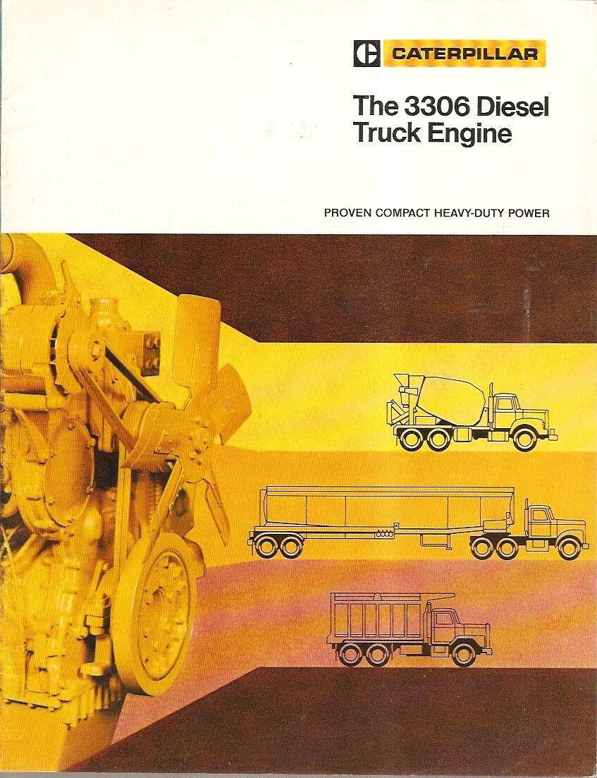 Truck Brochure - Caterpillar - 3306 - Diesel Engine (TB953) 1 of 1Only 1  available See More