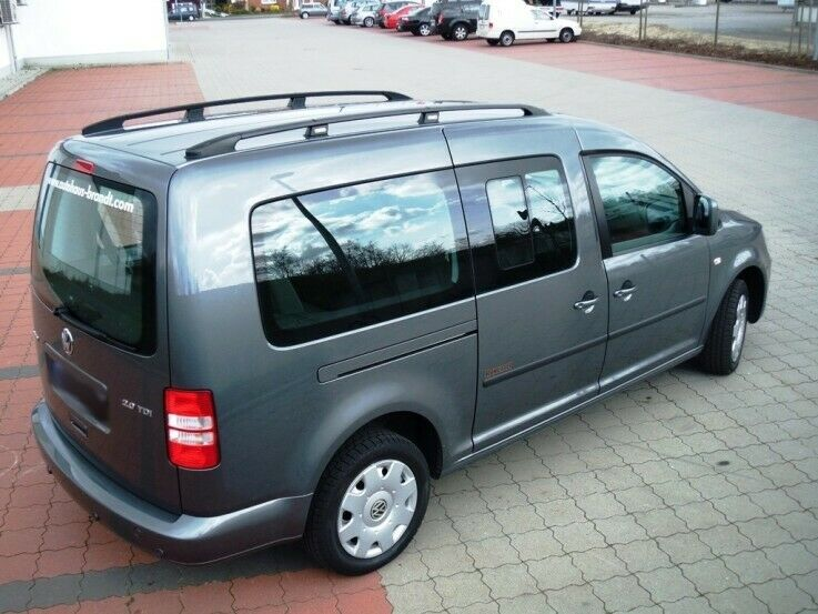 vw caddy maxi ab baujahr 2007 dachreling dachtr ger in. Black Bedroom Furniture Sets. Home Design Ideas