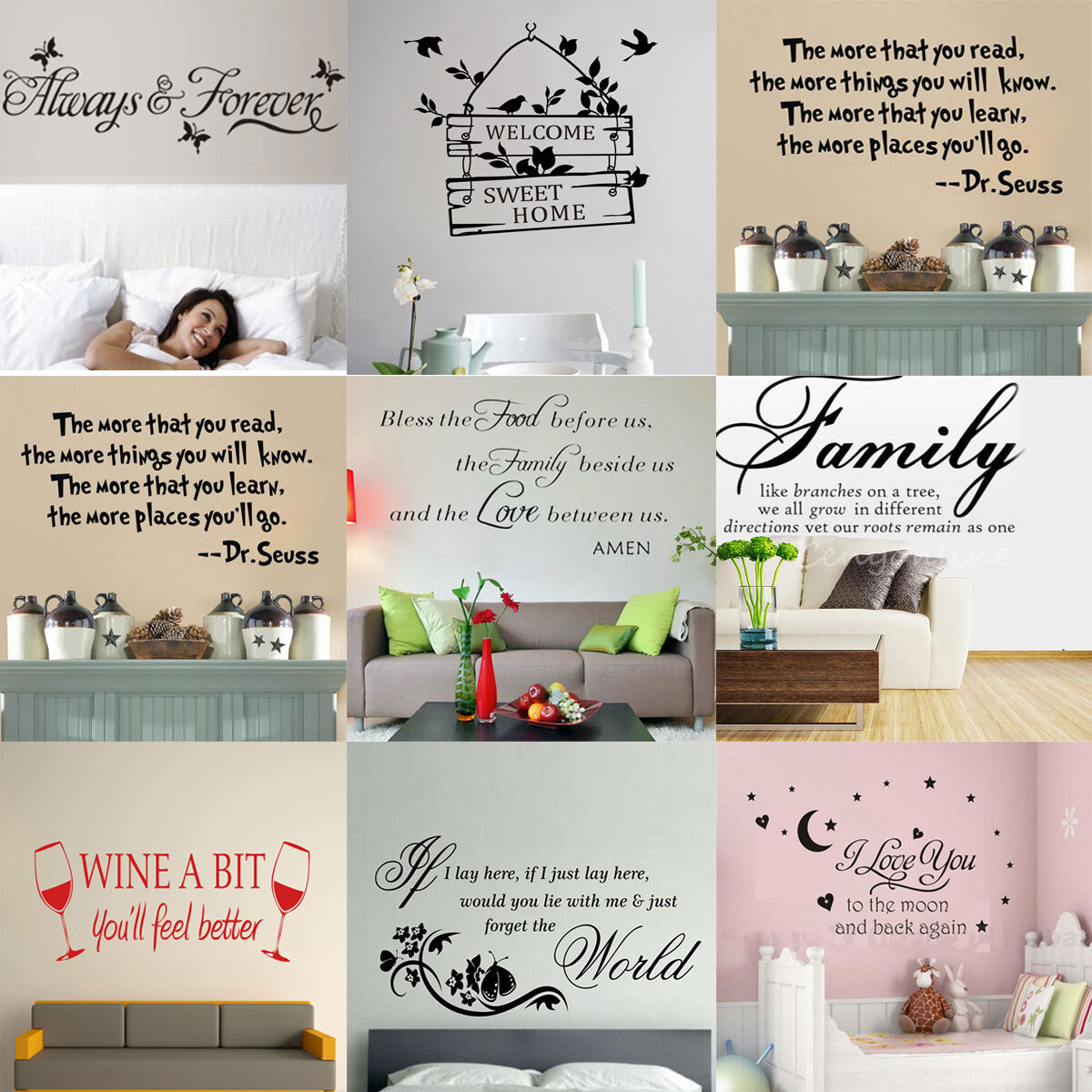 Decoration stickers muraux chambre 20170810182617 for Auto collant mural