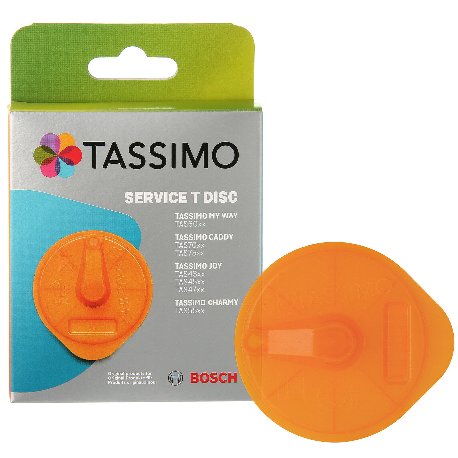 genuine bosch tassimo coffee descaler service t disc cleaning disc 00576837 picclick uk. Black Bedroom Furniture Sets. Home Design Ideas