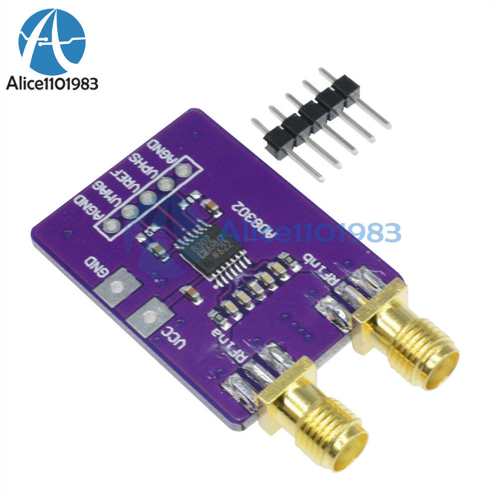 Ad8302 Amplitude Phase Rf Detector Module If 27ghz Detection Equipment Tools 2pcs Copper Gwinstek Lcr Kelvin Test Clip Bridge 1 Of 10 See More
