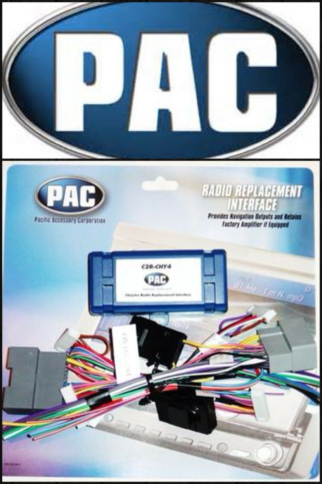 Radio Replacement Wire Harness Interface for Select Chrysler Dodge Jeep  Vehicles 1 of 1 See More