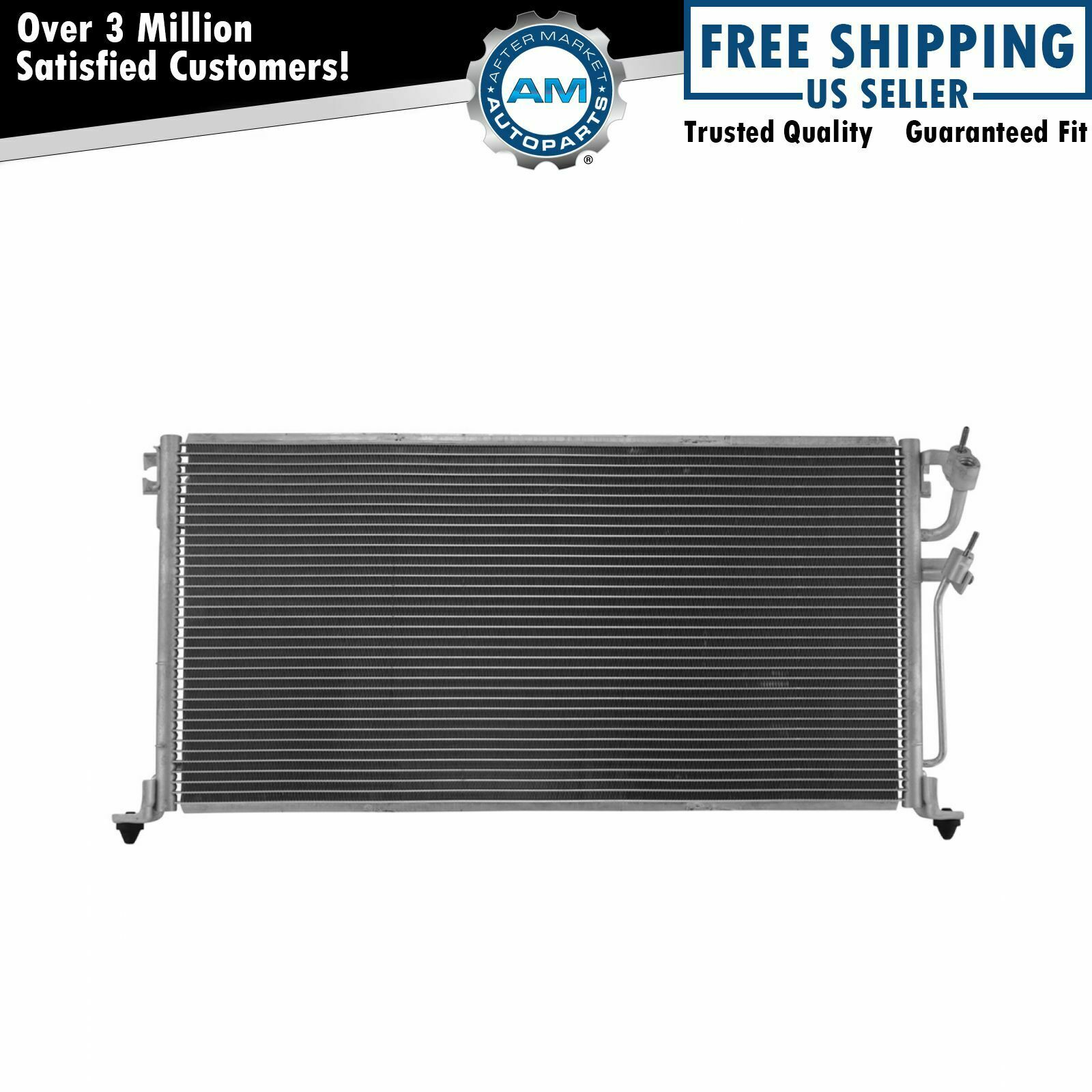 Ac Condenser A C Air Conditioning With Receiver Drier For Mitsubishi Evaporator Migare 1 Of 4only 5 Available