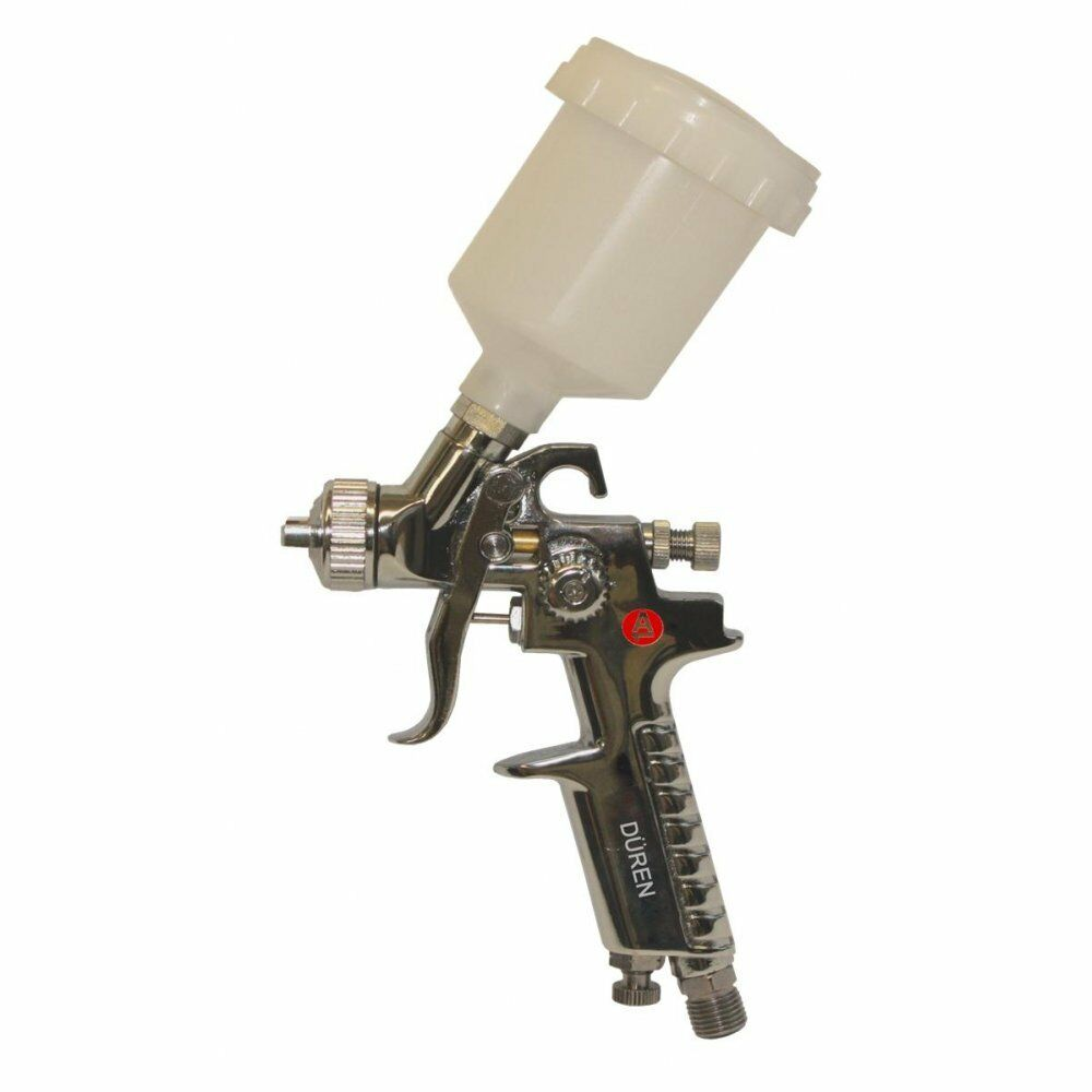 how to use hvlp gravity feed spray gun