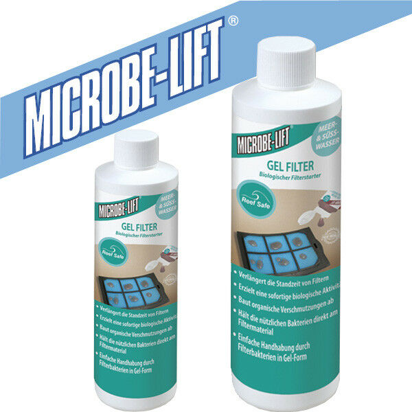 + Microbe-Lift Gel Filter Biologischer Filterstarter 118 mL