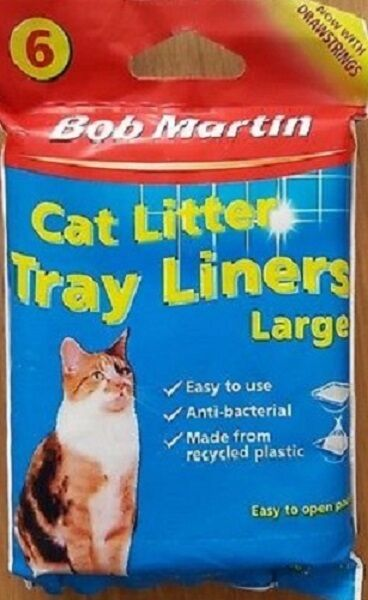 Bob Martin Cat Litter Tray Large Liners (6 pack)