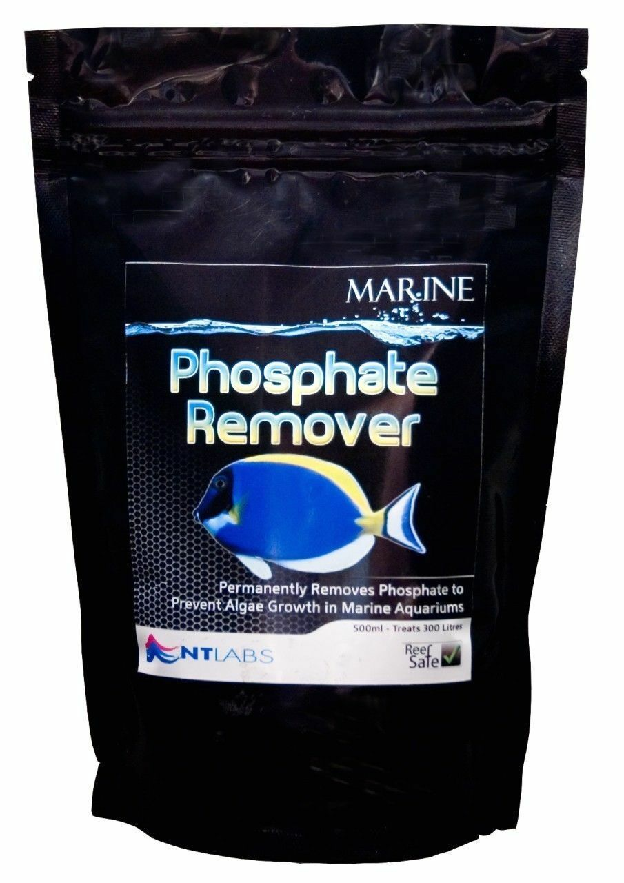 Nt Labs Marine Phosphate Remover 375G Treats 600L Prevent Algae Growth