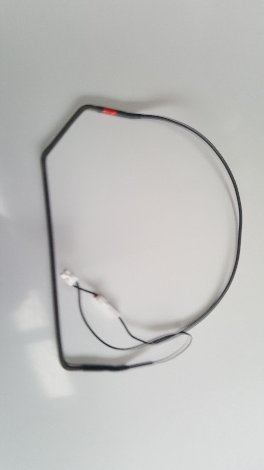 GENUINE LG NO FROST DE-FROST HEATER WITH  WIRED PLUG IN  ENDS SUIT GR 642ap