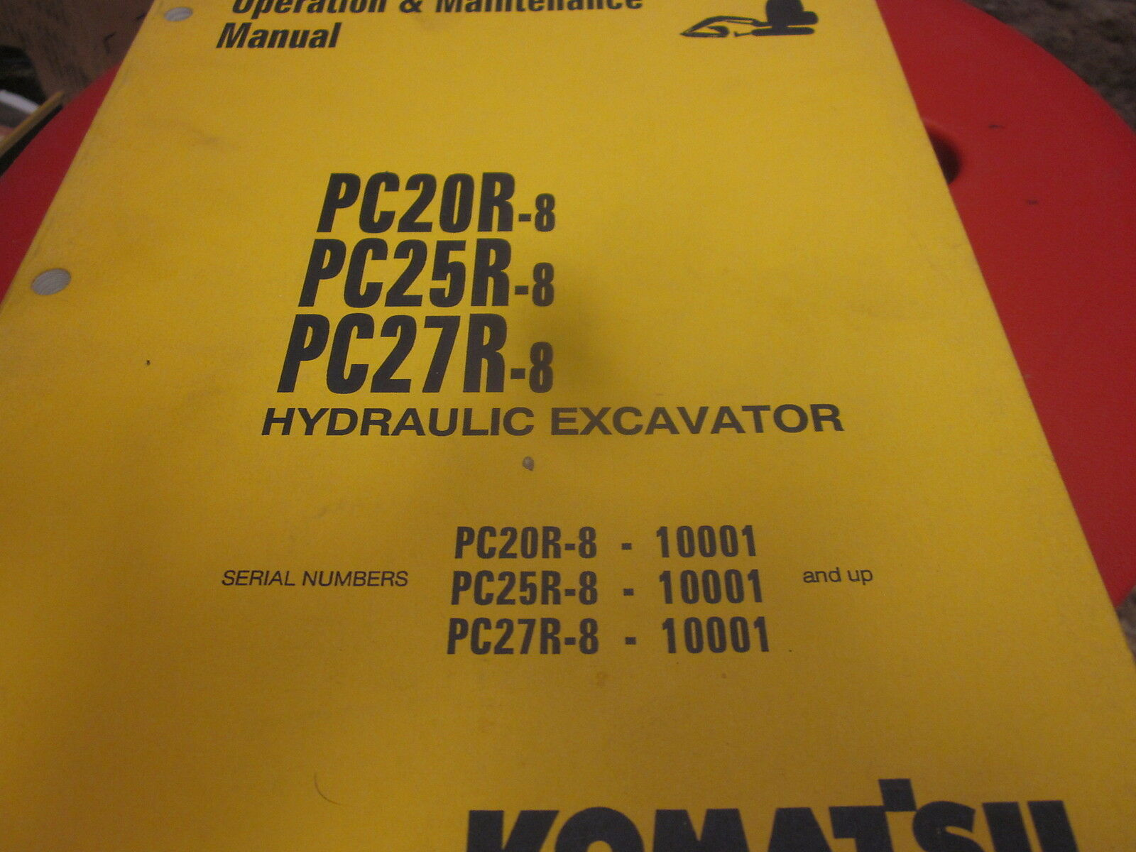 Komatsu PC20R-8 PC25R-8 PC27R-8 Excavator Operation & Maintenance Manual 1  of 2Only 1 available See More