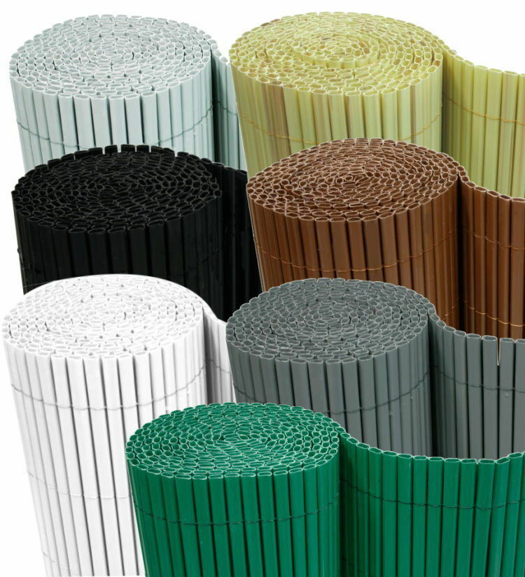 Captivating PVC Visual Protection Mat Balcony Blinds Garden Patio Screen Fence 1 Of 1  See More