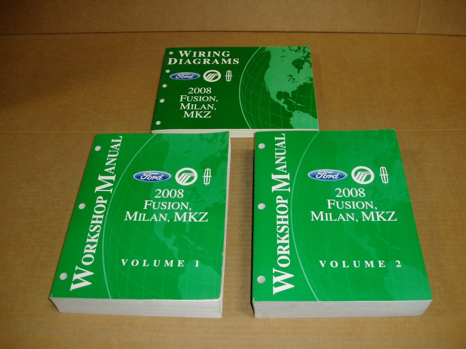 2008 Ford Fusion Mercury Milan Lincoln Mkz Dealer Wiring Service Mkx Engine Diagram Shop Manual 1 Of 6only Available