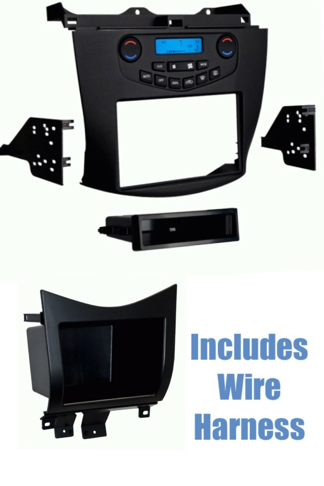 Car Radio Install Kit Combo For Select 2003 2004 2005 2006 2007 Honda Accord Wire Harness