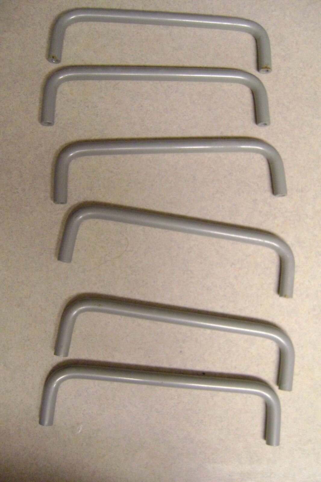 "IKEA Drawer Handles Muted Gray 5 1/4"" length Set 6"
