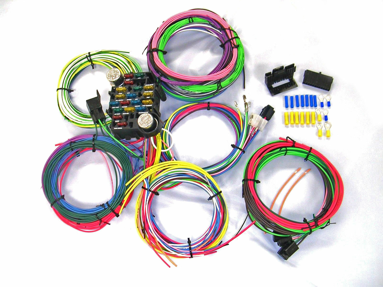 Universal Gearhead 1964 1965 1966 Ford Mustang Wire Wiring Harness Kit USA  Made 1 of 1Only 2 available ...