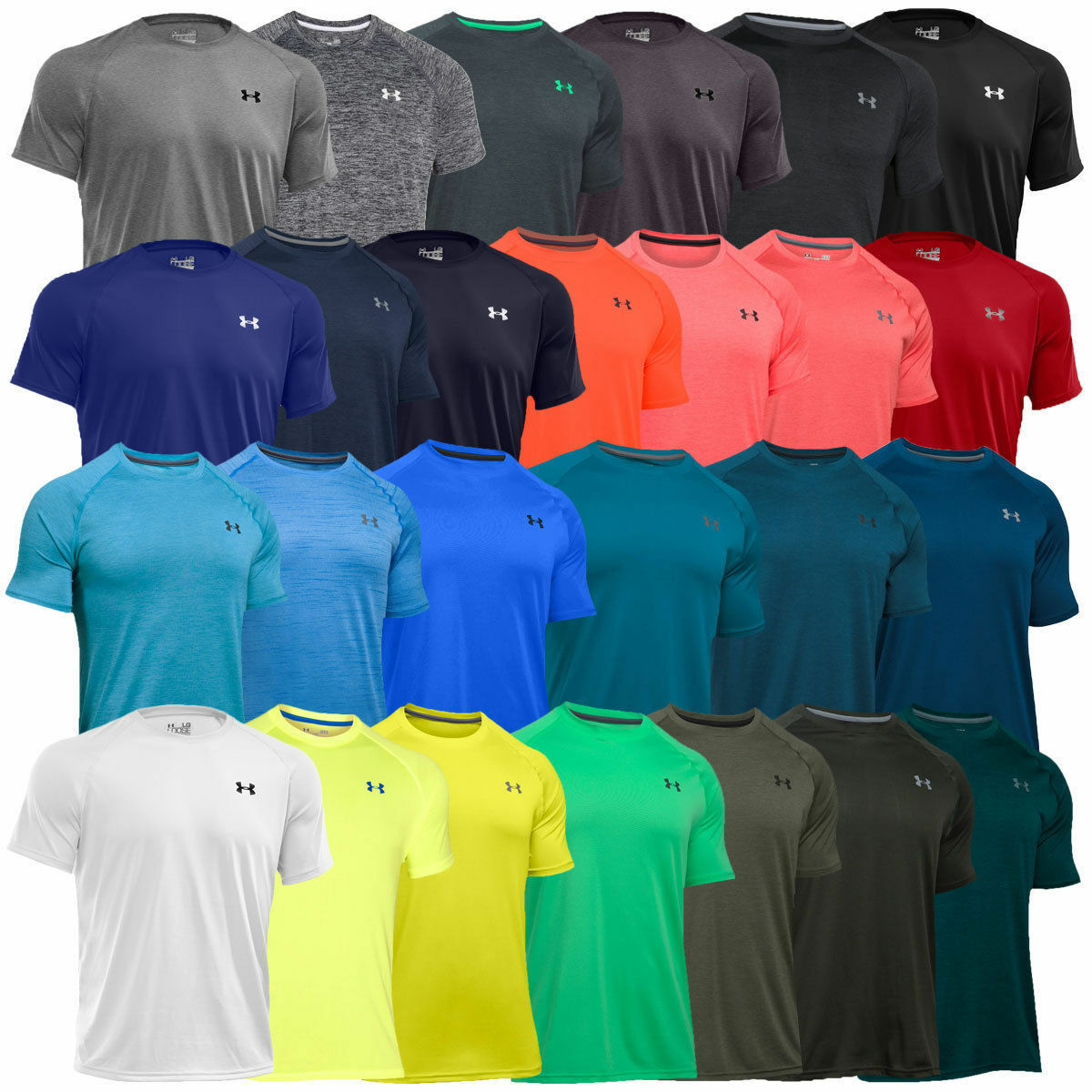 Under Armour 2018 Mens Ua Tech Short Sleeve Training