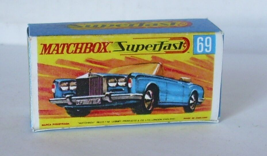 repro box matchbox superfast rolls royce silver. Black Bedroom Furniture Sets. Home Design Ideas