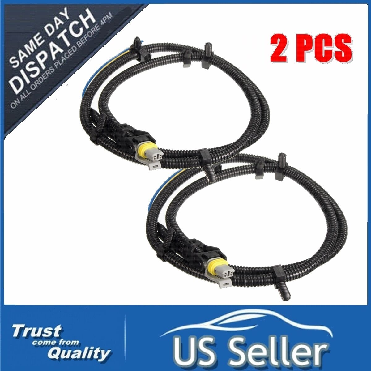 2x Abs Wheel Speed Sensor Wire Harness Plug Pigtail For Buick Chevy 1997 Chevrolet Blazer Wiring Gm 10340314 1 Of 7