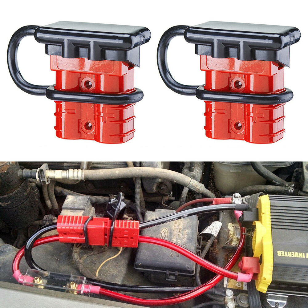 2X 50A Battery Quick Connect/Disconnect Wire Harness Plug Connectors for  Trailer 1 of 10FREE Shipping See More