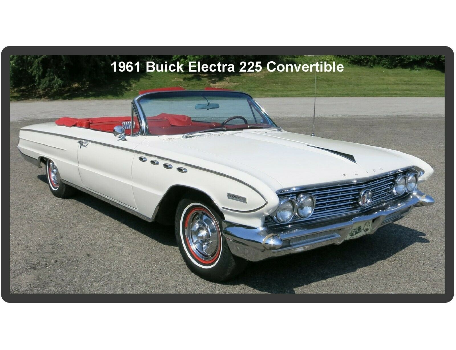1961 Buick Electra 225 Auto Refrigerator Tool Box Magnet 550 Convertible 1 Of 1free Shipping