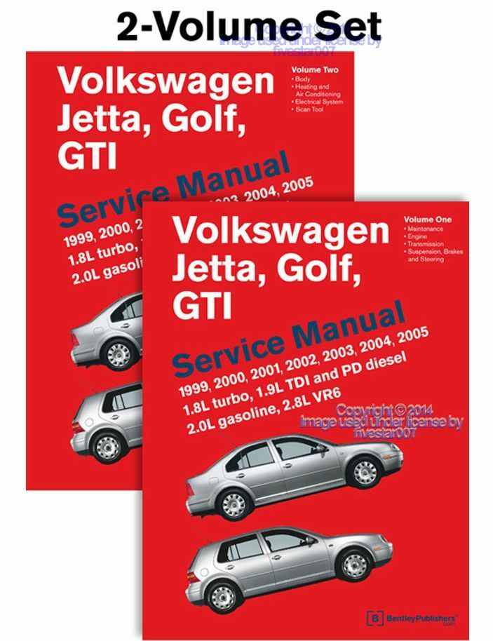 2 new bentley repair guide service manual vw golf gti jetta tdi rh picclick com 2018 VW Golf R VW Golf Mk2.5