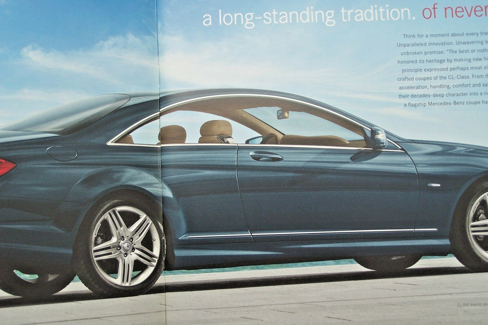 2012 mercedes cl 63 amg cl 550 owners sales brochure w216 cl class cl 600 cl  1 of 4Only 5 available See More