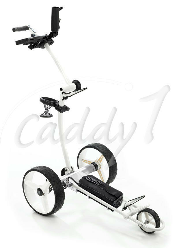 elektro golf trolley caddyone 700 wei mit lithium akku eur 749 00 picclick de. Black Bedroom Furniture Sets. Home Design Ideas