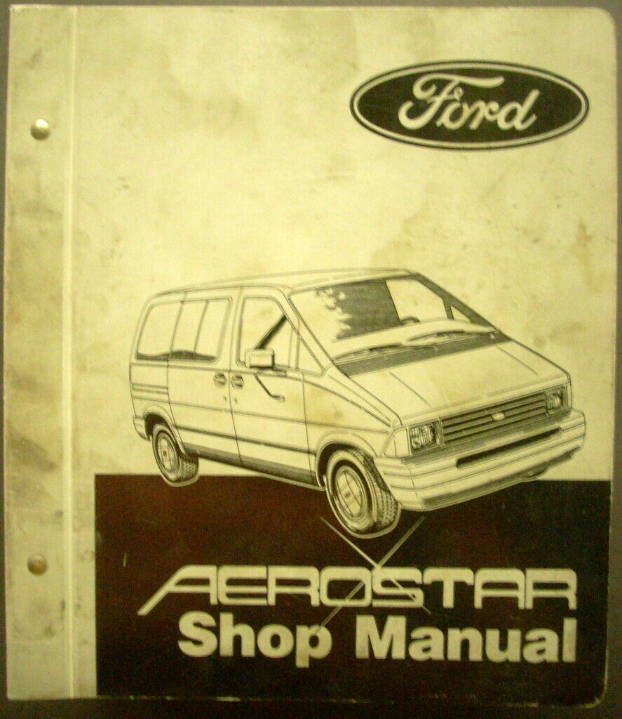 1986 Ford Truck Shop Service Manual Aerostar Maintenance Repair 86 Mini-van  1 of 1Only 1 available ...