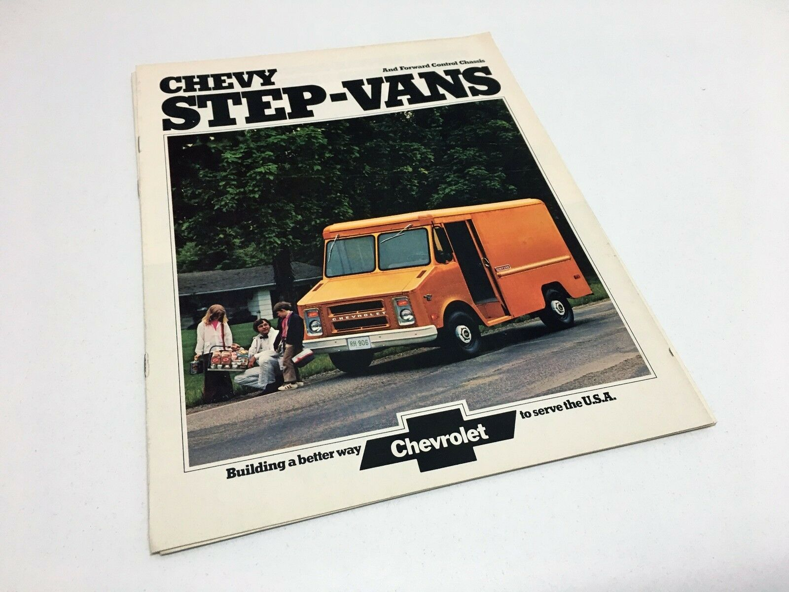 Chevy Wiring Diagrams 1978 Gmc P10 P20 P30 Electrical 1970 Diagram 1974 Chevrolet Step Vans Brochure 19 50 Picclick