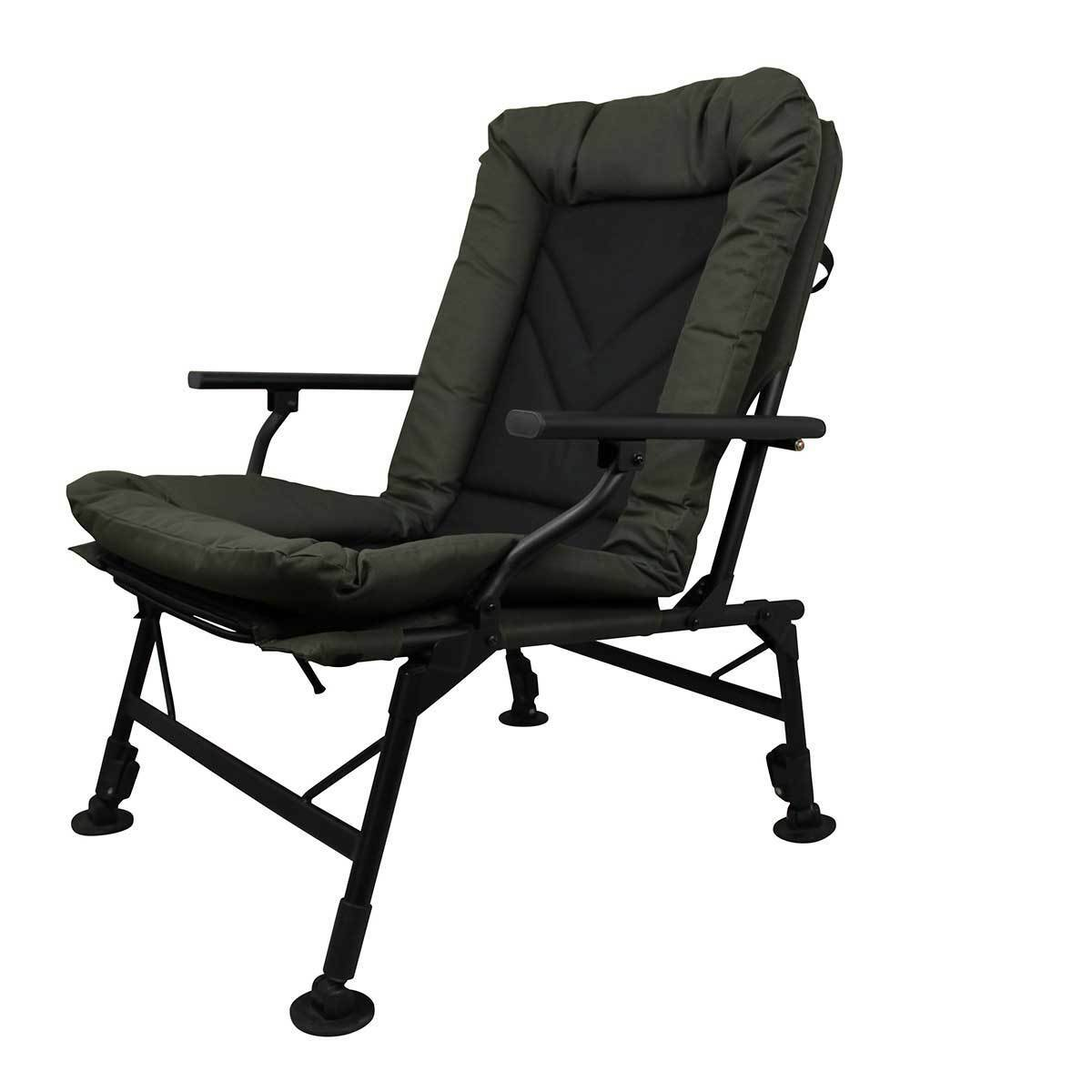 Prologic Comfort Carp Chair With Arms Ultra Padded Fishing
