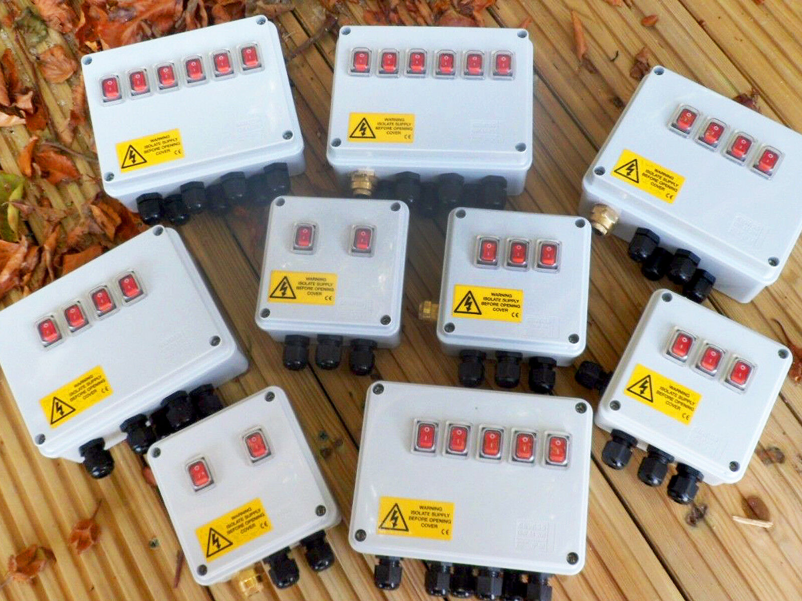Illuminated Rocker Switch Box For Pond Pumps Filters Etc And How To Hook Up 1 Of 8free Shipping
