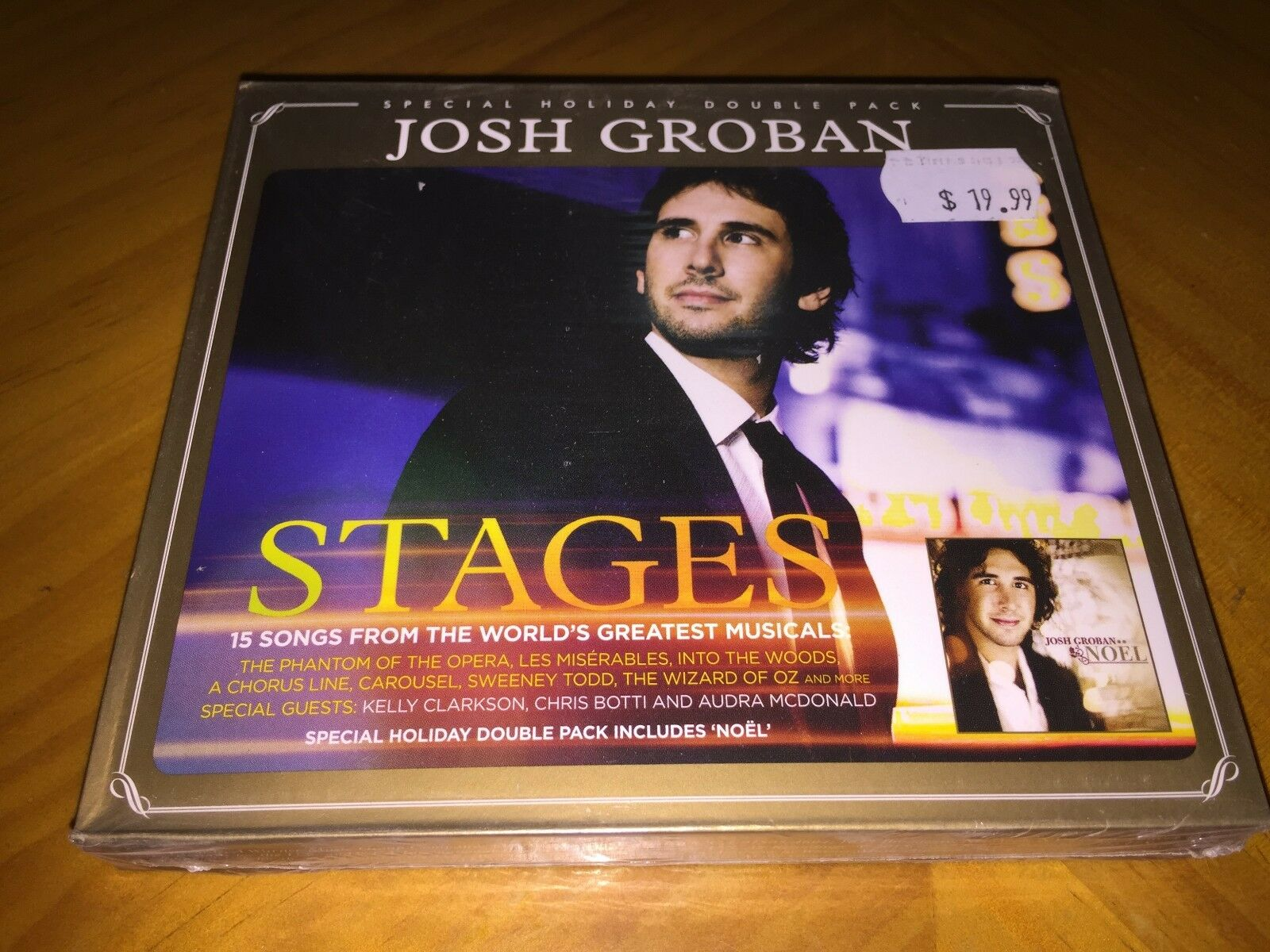 JOSH GROBAN - Stages / Noel 2CD two albums Pack New & Sealed - $9.98 ...