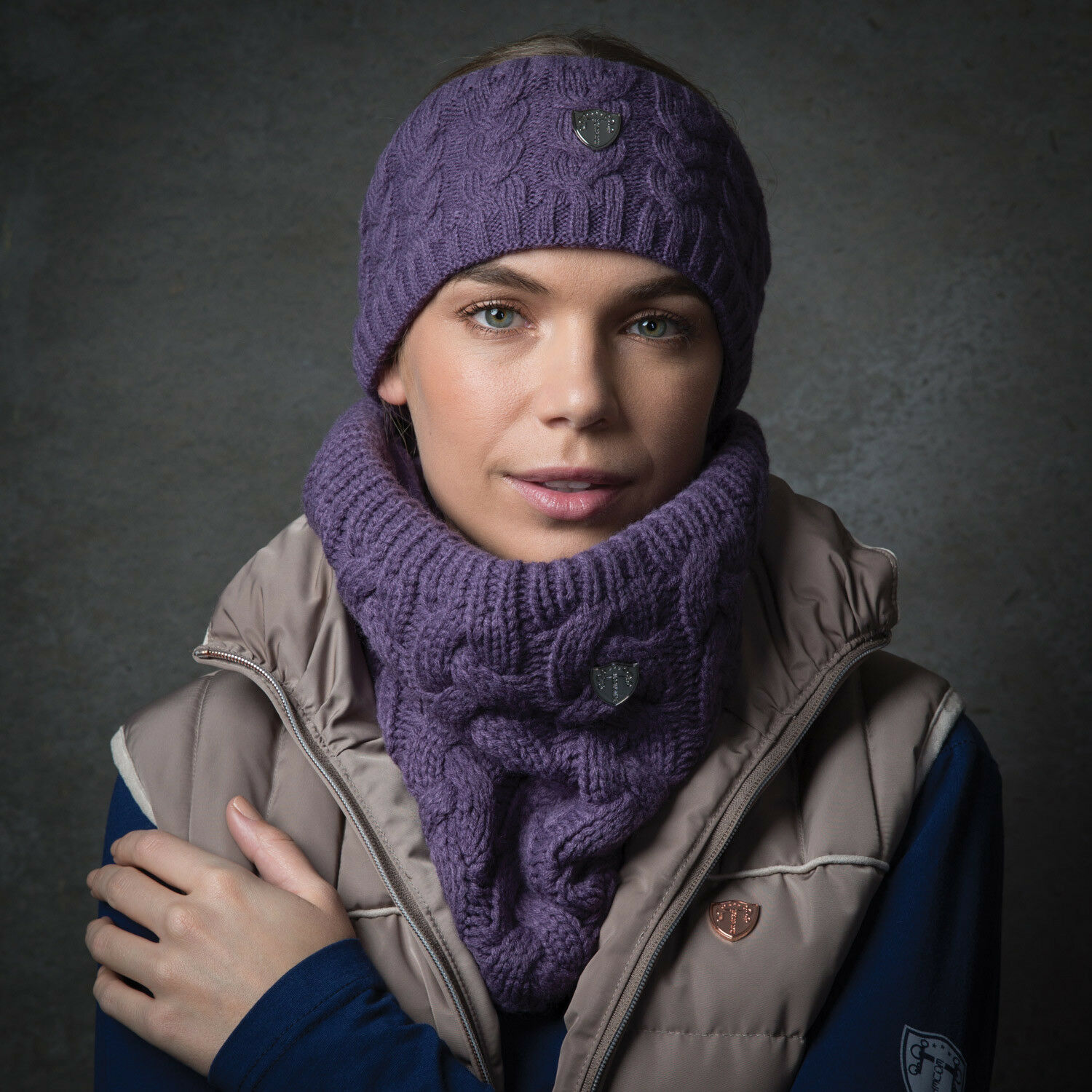 Equetech Cable Knit Headband One Size NEW 2017 Colours ...