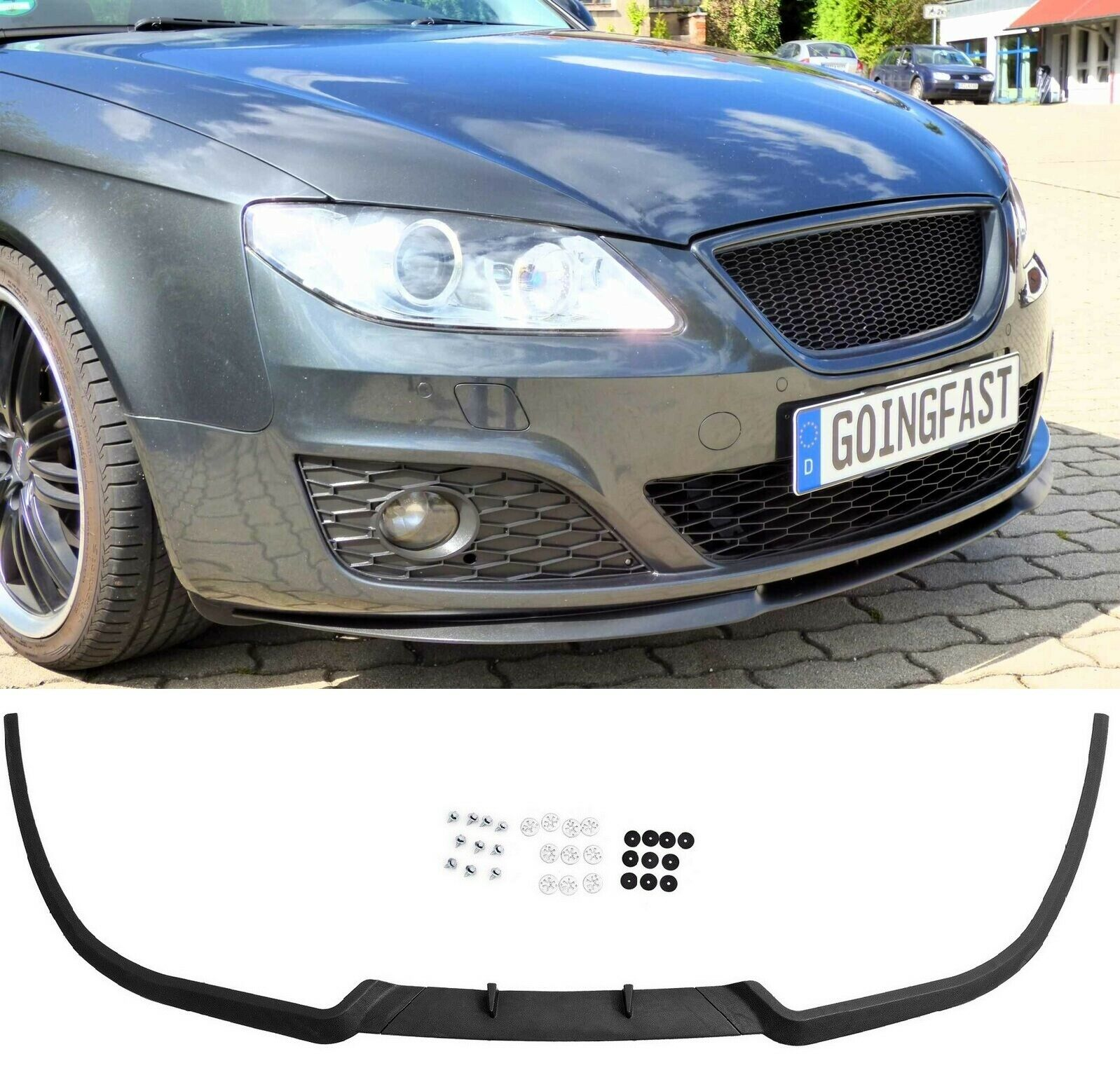 f r seat exeo cupra r front spoiler lippe frontsch rze. Black Bedroom Furniture Sets. Home Design Ideas