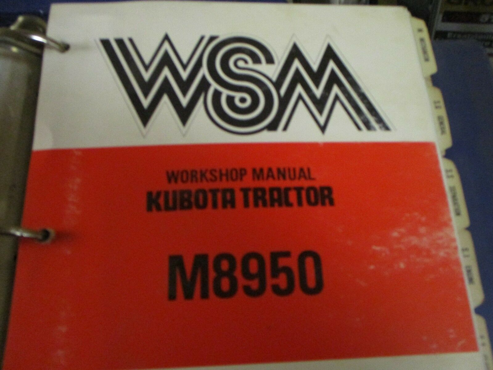 Kubota M8950 M8950S M8970 Tractor Workshop Manual 1 of 3Only 1 available ...